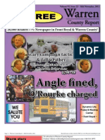 The Mid November, 2011 edition of Warren County Report