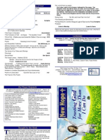 2011 Worship Bulletin
