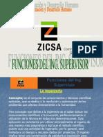 Funciones Del Ing. Supervisor