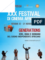 Programma Cinema Africano 2010