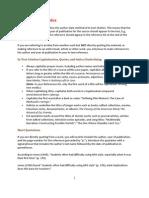 APA Citation Basics