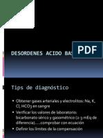 Desordenes Acido Base