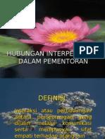 Hubungan Interpersonal Dlm Mentoring 2