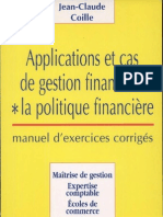 Applications Et Cas de Gestion Financiere