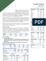Market Outlook 11th November 2011