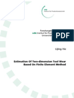Estimation of Two-Dimension Tool WearBased on Finite Element Method