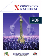 AGENDA CONVENCIÓN FINAL