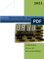 micro-controller based system design