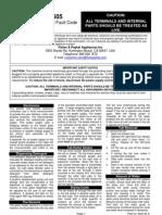 DD605 Service Summary USA 522145C