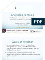 Shattered Families-Immigration and Child Welfare