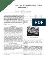 ALPR Paper