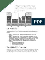 Gsm Protocol Stacks
