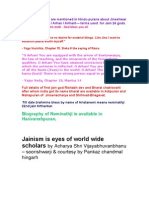Jainism in Eyes of World Wide Scholars--- Pankaz c