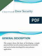Password Door Security