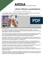 Super Bacteria Ahora Infecta a Australia Nos