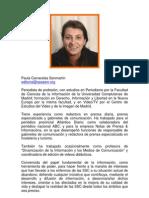 Curriculum Paula Carracelas Sanmartín
