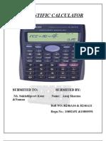 Scientific Calculator 111