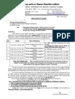 Circular No 10 Dissertation 101011