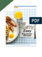 29 Easy Tasty Breakfast Recipes