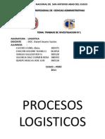 Trabajo de Investigacion Logistic A)