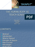 The Human Body As