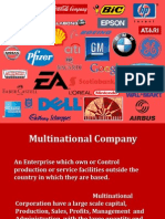 Multinational Company 2003