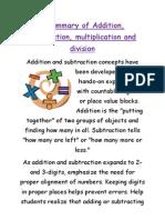 A Summary of Addition[2]