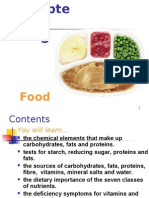 Chapter 5 - Nutrition (Food)