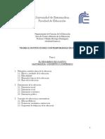 El fenómeno educativoTEMA 1