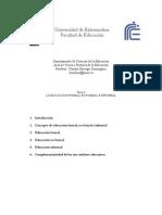 04. La educación formal-noformal-informal