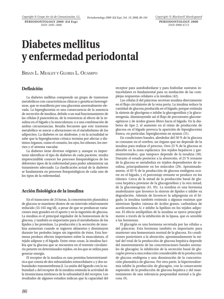 diabetes revisa lebovitz caramelo