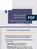 Chp09 - The Government and Fiscal Policy