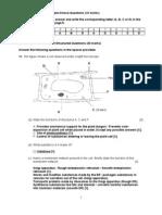 Common Test 1 (Sec 3 - 2007)(Marking Scheme)