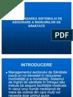 1. ORGANIZAREA SISTEMULUI DE SĂNĂTATE
