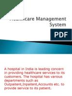 Healthcare Management System