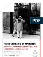 COMAR - LVMH Au Japon - Rapport Final Version Finale