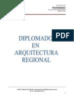 Diplomado en Arquitectura Pie de Pagina
