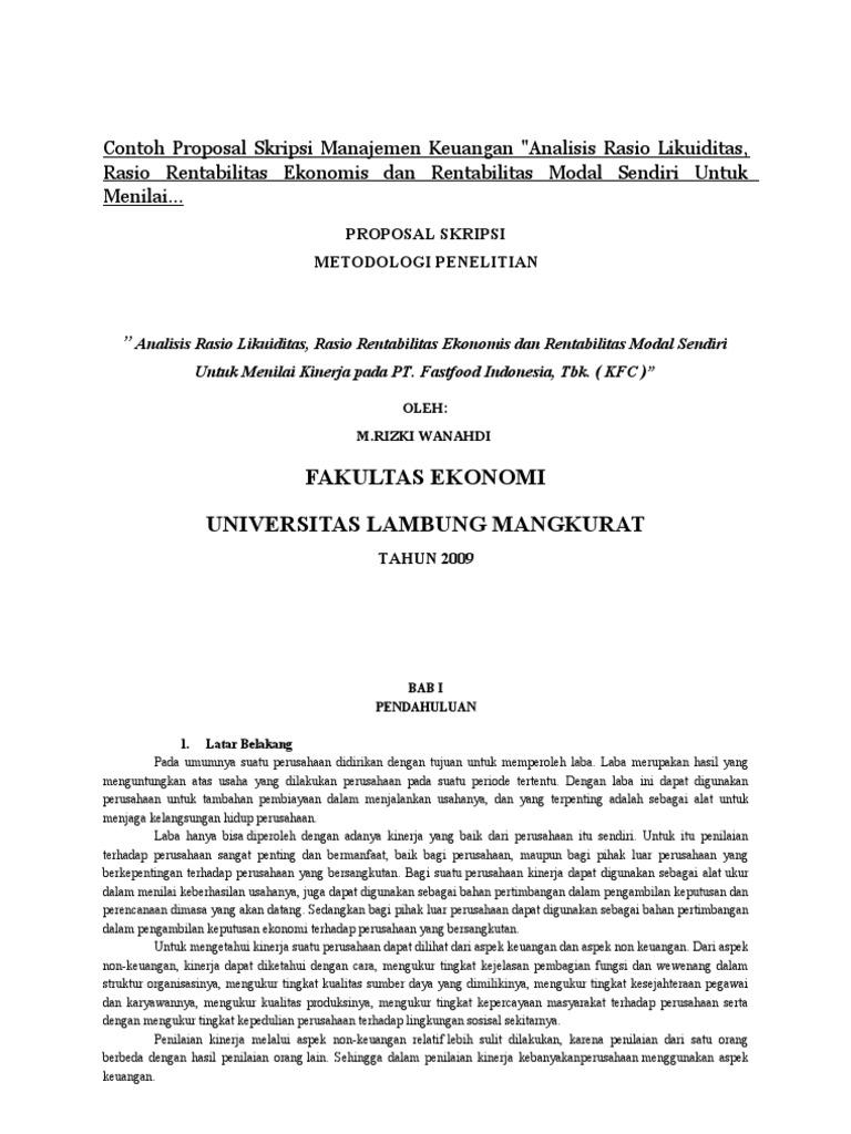 Contoh Penelitian Tentang Manajemen Ilmusosial Id