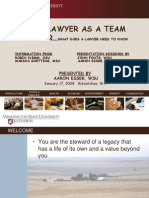 Your Attorney as a Team Member - Aaron Esser