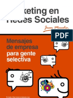 Marketing en Redes Sociales - Mensajes de Empresa Para Gente Selectiva