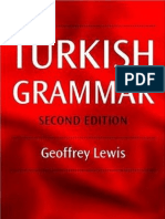 1 Turkish Grammar