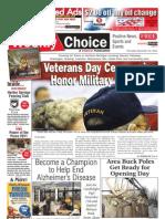 Weekly Choice - November 10, 2011