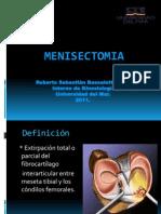 Menisectomia