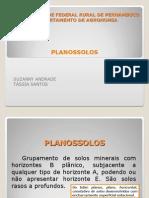 CIÊNCIA DO SOLO- PLANOSSOLOS