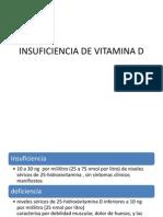 Insuficiencia de Vitamina d