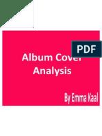 Album Cover Analysis