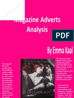 Magazine Adverts Analysis