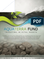 Investing in Agriculture, Water and Other Scarce Resources