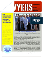 Lawyers Video Studio - New Nov. 11' Newsletter Now Available!