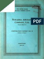USSBS Report 17, Nakajima Aircraft Company